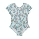 Seafolly Mystical Garden Cut Out Tank Girls Swimsuit