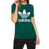 Adidas Originals Trefoil Womens Short Sleeve T-Shirt - Collegiate Green