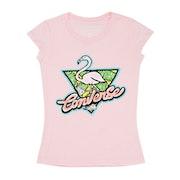 Camiseta de manga corta Niño Converse Flamingo