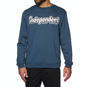 Independent Outline Crew Sweater - Navy