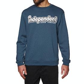 Sudadera Independent Outline Crew - Navy