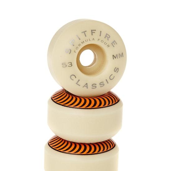 Spitfire Formula Four Classics 99du 53 Mm Skateboard Wheel