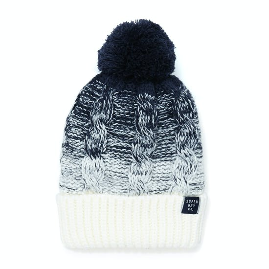 Superdry Clarrie Cable Womens Beanie