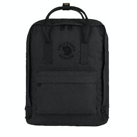 Fjallraven Re Kanken Backpack - Black
