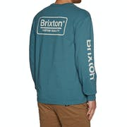 Brixton Palmer SV Langarm-T-Shirt