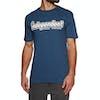 Independent Outline Short Sleeve T-Shirt - Navy