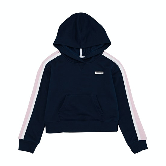 Converse Cropped Kids Pullover Hoody
