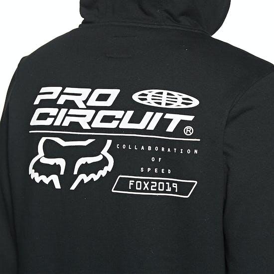 Sudaderas con capucha y cremallera Fox Racing Pro Circuit Fleece