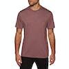 T-Shirt a Manica Corta Element Basic Pocket Crew - Oxblood Heather