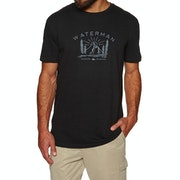Quiksilver Mens Back To Nature Short Sleeve T-Shirt