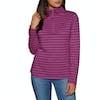 Joules Fairdale Half Zip Womens Sweater - Deep Fuchsia Stripe