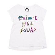 Animal Emmie Girls Short Sleeve T-Shirt
