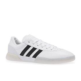 Calzado Adidas City Cup - White Black Solid Grey