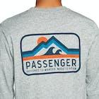 Passenger Clothing Peaked Long Sleeve T-Shirt