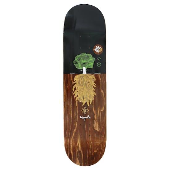 Magenta Night Tree 8.125 Inch Skateboard Deck