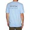 Brixton Wedge Standard Short Sleeve T-Shirt - Light Blue