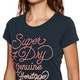 Superdry 67 Genuine Fade Embroidery Entry Dames T-Shirt Korte Mouwen