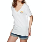 Hurley Surfbow Perfect V Neck Ladies Short Sleeve T-Shirt
