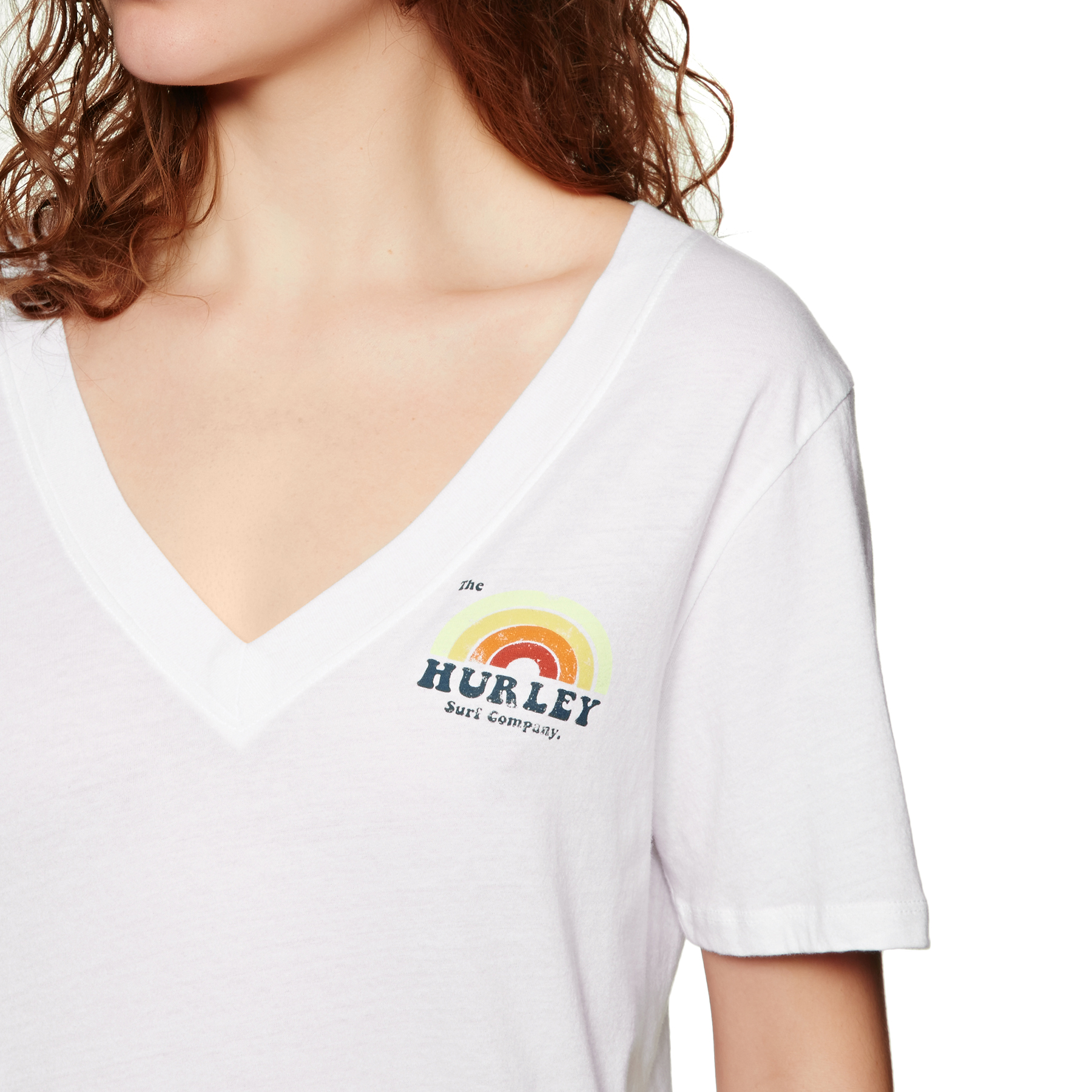 Camisetas Mujer Hurley W Surfbow Vneck
