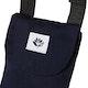 Magenta Classic Messenger Bag
