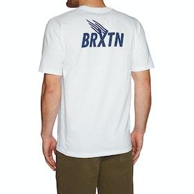Brixton Rogers III Short Sleeve T-Shirt - White