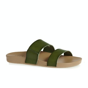 Reef Cushion Bounce Vista Womens Sandals - Olive