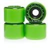 Bones Rough Riders Tank Atf 59 Mm Skateboard Wheel - Green