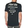 Camiseta de manga corta Fox Racing Resin Airline - Black