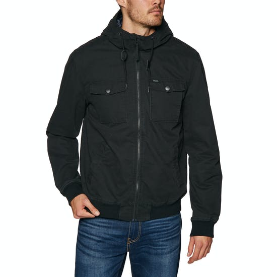 cee5120d4 RVCA Hooded Bomber Ii Jacket available from Surfdome