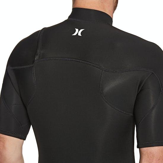 Hurley Advantage Plus 2mm Chest Zip Shorty Wetsuit