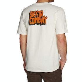 Brixton Intake Short Sleeve T-Shirt - Off White