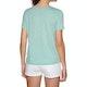 T-Shirt à Manche Courte Femme Roxy Red Sunset B