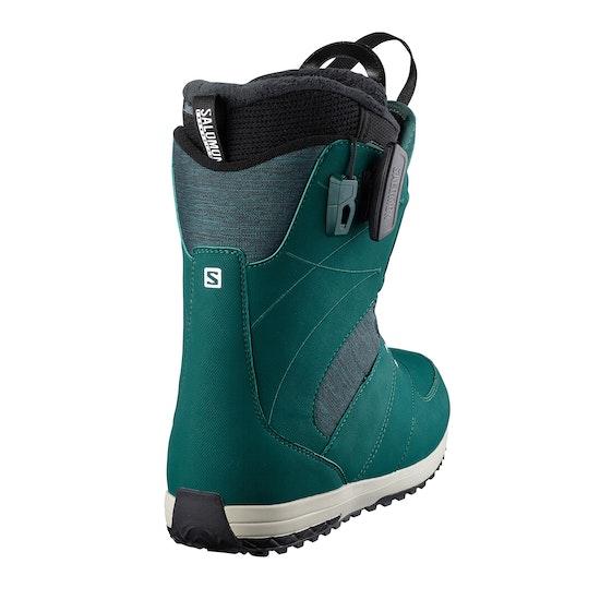 Boots de snowboard Femme Salomon Ivy BOA STR8JKT