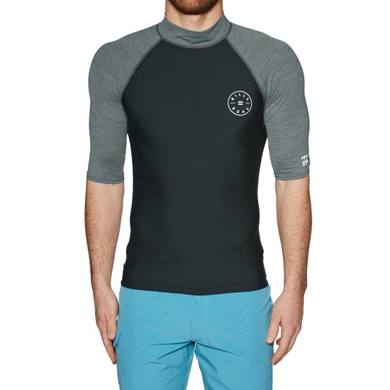 Billabong Rotohand Short Sleeve Rash Vest