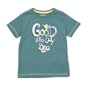 Quiksilver Good Vibes Boys Short Sleeve T-Shirt