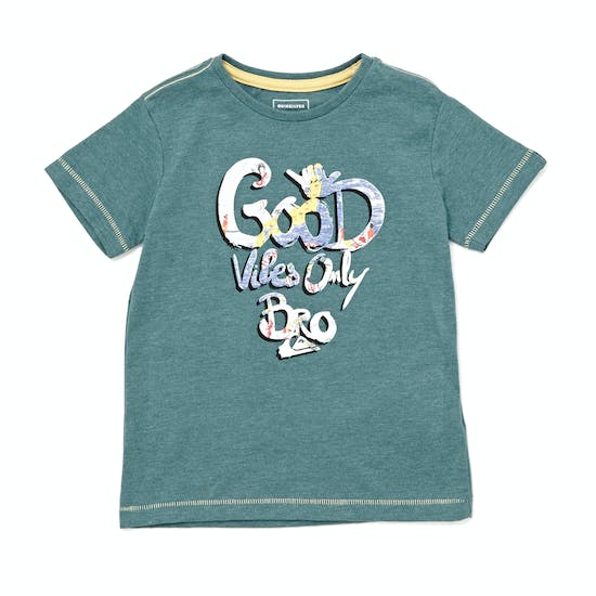 Quiksilver Good Vibes Boys Short Sleeve T-Shirt