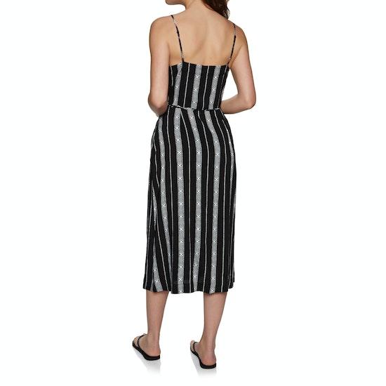 Seafolly Lattice Stripe Wrap Dress