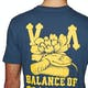 RVCA Floral Snake Short Sleeve T-Shirt