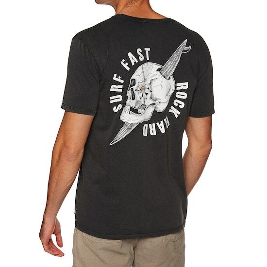 Quiksilver Skulled Short Sleeve T-Shirt