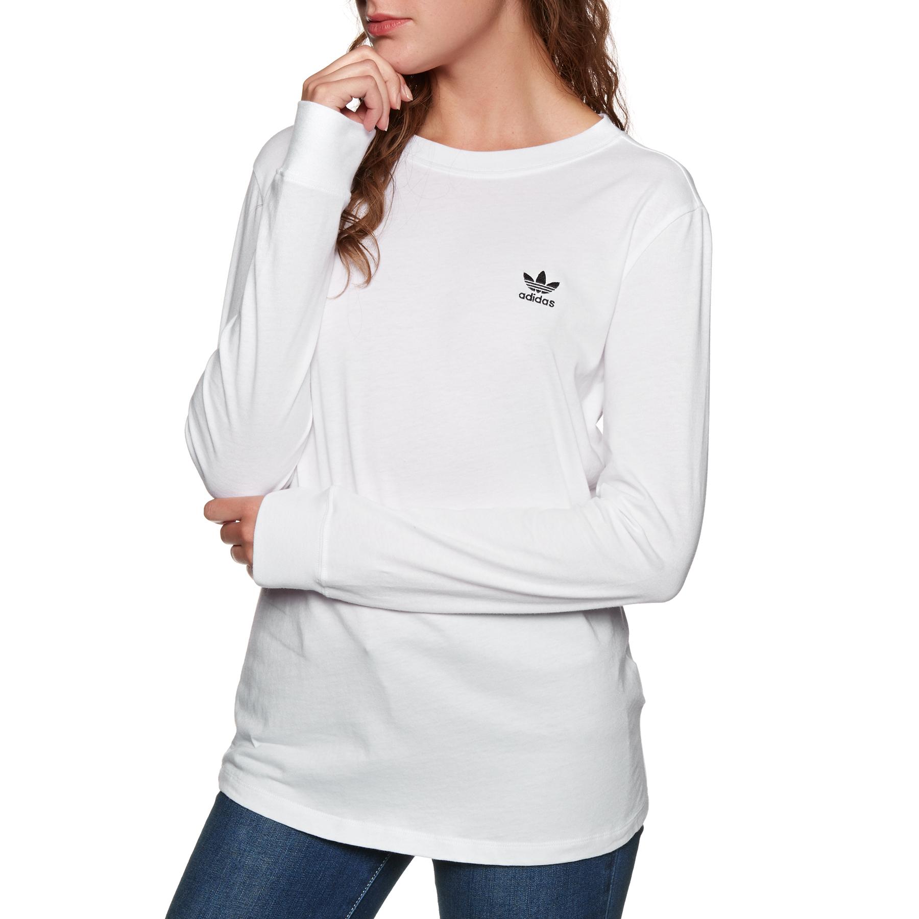 t shirt long femme adidas