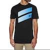 Hurley Icon Slash Gradient Short Sleeve T-Shirt - Black Blue