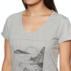 Rip Curl By The Sea Ladies Short Sleeve T-Shirt