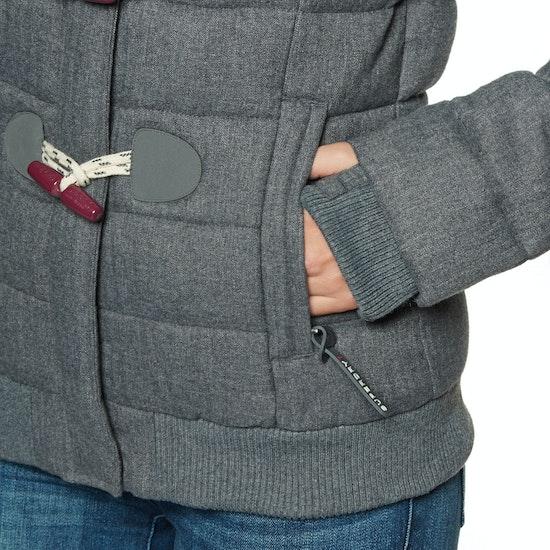 Superdry Marl Toggle Puffle Womens Jacket