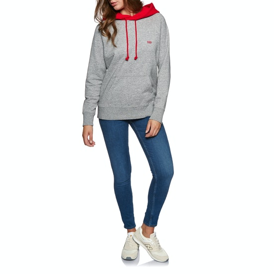 Levi's Sportswear Hoodie Smokestack Htr Womens Pullover Hoody