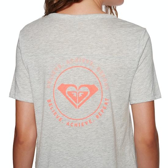 Roxy Hello Winter Ladies Short Sleeve T-Shirt