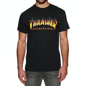 Thrasher Bbq Short Sleeve T-Shirt - Black