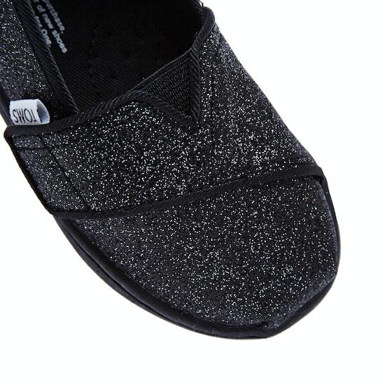 Toms Glimmer Mini Girls Slip On Shoes