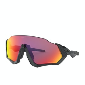 Oakley Flight Jacket Sunglasses - Matte Black~prizm Road