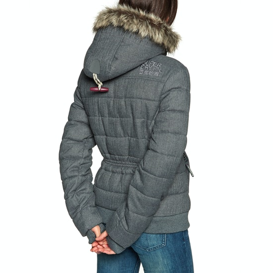 Superdry Marl Toggle Puffle Dames Jas