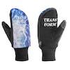 Transform The Marbelous Mitt Snow Gloves - Aqua